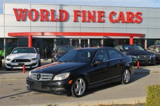 Used 2011 Mercedes-Benz C-Class | Accident Free | Ontario Local | 4matic for sale in Etobicoke, ON