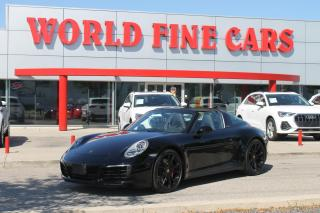 Used 2018 Porsche 911 Targa 4S | Low Mileage! | Accident Free | AWD | PDK for sale in Etobicoke, ON