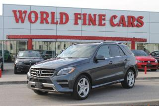 Used 2015 Mercedes-Benz ML-Class | One Owner! | Accident Free! | *DIESEL* for sale in Etobicoke, ON