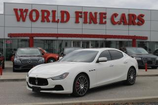 Used 2016 Maserati Ghibli S Q4 | 400+ HP! | AWD for sale in Etobicoke, ON