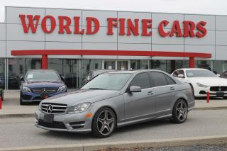 Used 2014 Mercedes-Benz C-Class | 4matic AWD | Navigation for sale in Etobicoke, ON
