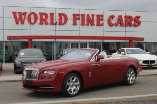 Used 2016 Rolls-Royce Dawn | Accident Free | *LOADED* | Rare! | 560+ HP for sale in Etobicoke, ON