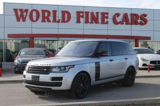 Used 2017 Land Rover Range Rover DIESEL Td6 HSE | Ontario Local | *DIESEL* | Loaded! for sale in Etobicoke, ON