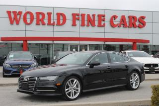 Used 2017 Audi A7 3.0T Progressiv | Accident Free | Ontario Car | Quattro AWD | 325 HP! for sale in Etobicoke, ON
