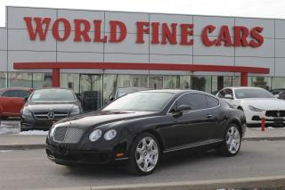 Used 2007 Bentley Continental GT | Accident Free | AWD | *550 HP W12* for sale in Etobicoke, ON