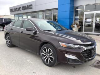 New 2020 Chevrolet Malibu RS for sale in Listowel, ON
