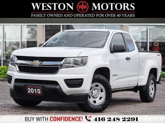 2015 Chevrolet Colorado 4X4*EXTENDED CAB*REV CAM*PWR GRP!!*