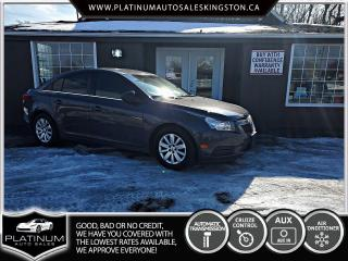 Used 2011 Chevrolet Cruze LS for sale in Kingston, ON