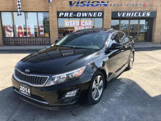Used 2014 Kia Optima Hybrid 4dr Sdn EX Premium Hybrid-NAVI-BACK UP CAM for sale in North York, ON