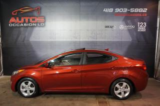 Used 2013 Hyundai Elantra GLS AUTOMATIQUE TOIT OUVRANT MAGS BLUETOOTH WOW for sale in Lévis, QC