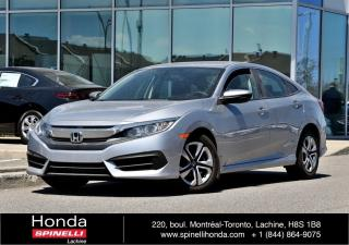 Used 2017 Honda Civic LX SEDAN AUTO AC APPLE CARPLAY CAM RECUL BLUETOOTH++ for sale in Lachine, QC