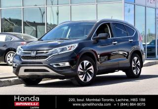 Used 2016 Honda CR-V Touring NAVI CUIR TOIT BAS KM AWD CUIR TOIT GPS BLUETOOTH CAM RECUL++ for sale in Lachine, QC