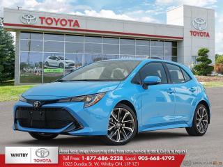 New 2020 Toyota Corolla Hatchback CVT