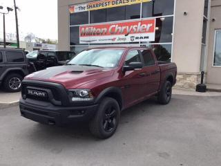 New 2020 RAM 1500 Classic WARLOCK CREW 4X4/NAV/SPORT HOOD for sale in Milton, ON