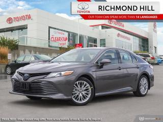New 2020 Toyota Camry Hybrid XLE  - Sunroof -  Navigation - $158.83 /Wk for sale in Richmond Hill, ON