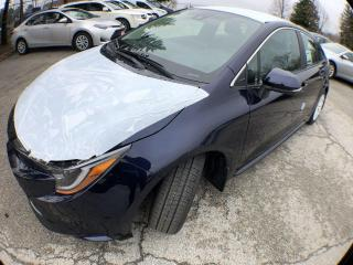 New 2020 Toyota Corolla AUTO XLE 2W 4CY Corolla XLE CVT for sale in Mississauga, ON