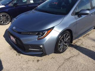 New 2020 Toyota Corolla XSE AUTO Corolla XSE CVT for sale in Mississauga, ON