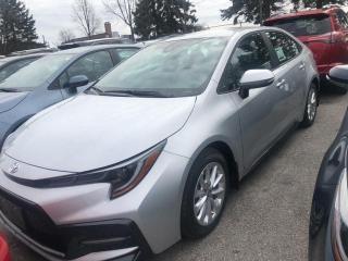 New 2020 Toyota Corolla AUTO SE 2W 4CY Corolla SE CVT for sale in Mississauga, ON