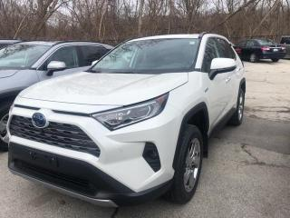 New 2020 Toyota RAV4 Hybrid LTD RAV4 HYBRID RAV4 Hybrid Limited for sale in Mississauga, ON