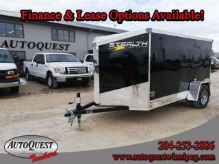Used 2021 Stealth Cargo Trailer 5' x 10' V-Nose for sale in Winnipeg, MB