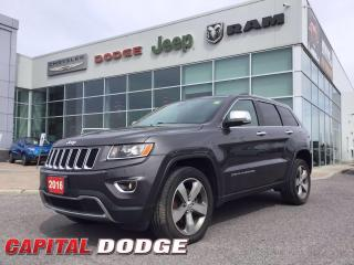 Used 2016 Jeep Grand Cherokee Limited for sale in Kanata, ON