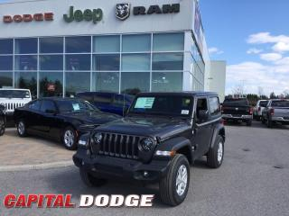 New 2020 Jeep Wrangler Sport S for sale in Kanata, ON