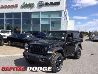 New 2020 Jeep Wrangler Willys for sale in Kanata, ON
