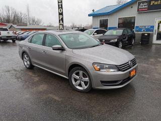Used 2013 Volkswagen Passat COMFORTLINE for sale in Madoc, ON