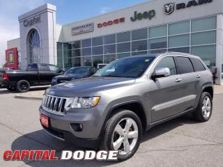 Used 2013 Jeep Grand Cherokee Overland for sale in Kanata, ON