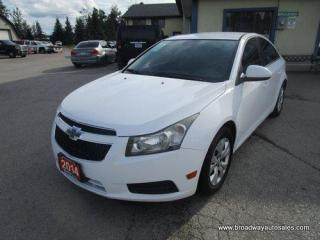 Used 2014 Chevrolet Cruze FUEL EFFICIENT LT-EDITION 5 PASSENGER 1.4L - TURBO.. CD/AUX/USB INPUT.. KEYLESS ENTRY.. for sale in Bradford, ON