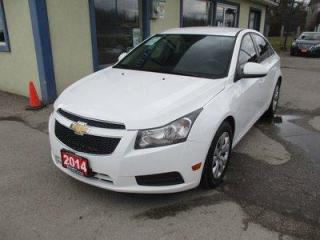 Used 2014 Chevrolet Cruze FUEL EFFICIENT 1-LT EDITION 5 PASSENGER 1.4L - TURBO.. CD/AUX/USB INPUT.. KEYLESS ENTRY.. for sale in Uxbridge, ON