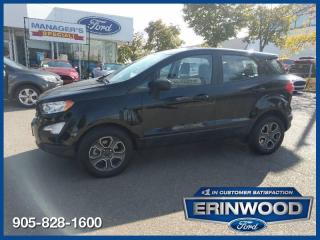 Used 2018 Ford EcoSport S for sale in Mississauga, ON