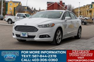 Used 2016 Ford Fusion AWD, 2.0L GTDI, SE TECH PACKAGE, SE APPEARANCE PACKAGE, NAVIGATION, CRUISE for sale in Okotoks, AB
