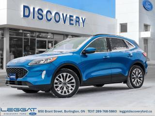 New 2020 Ford Escape Titanium - AWD for sale in Burlington, ON