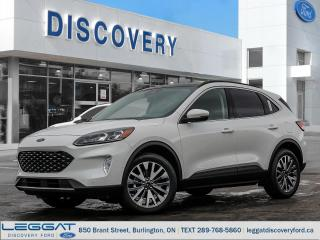 Used 2020 Ford Escape Titanium - AWD Hybrid for sale in Burlington, ON