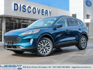 New 2020 Ford Escape Titanium - AWD Hybrid for sale in Burlington, ON
