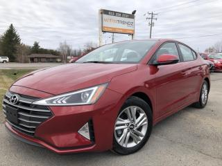 Used 2020 Hyundai Elantra Preferred w/Sun & Safety Package Sunroof, Heated Steering, Heated Seats, BackupCam, BlindSpot Detect and Lane Departure! for sale in Kemptville, ON