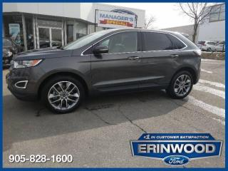 Used 2017 Ford Edge Titanium for sale in Mississauga, ON