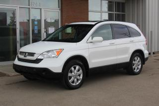 Used 2007 Honda CR-V EX-L AWD - NAVIGATION - HEATED LEATHER for sale in Saskatoon, SK