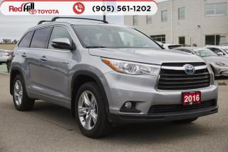 Used 2016 Toyota Highlander HYBRID Limited Rare Find! for sale in Hamilton, ON