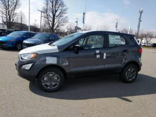 New 2020 Ford EcoSport S for sale in Mississauga, ON