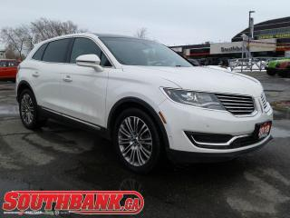 Used 2018 Lincoln MKX Reserve for sale in Ottawa, ON