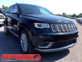 Used 2018 Jeep Grand Cherokee Summit for sale in Ottawa, ON