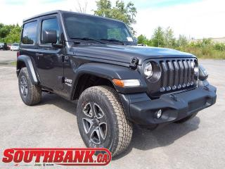 New 2020 Jeep Wrangler Sport S for sale in Ottawa, ON