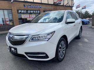 Used 2016 Acura MDX SH-AWD 4dr Nav Pkg for sale in North York, ON