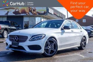 Used 2016 Mercedes-Benz C-Class C 450 AMG 4Matic Navigation Panoramic Sunroof Backup Camera Bluetooth Blind Spot 18