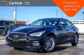 Used 2016 Infiniti Q50 2.0t AWD|Navi|Sunroof|Bluetooth|Backup Cam|Leather|Heated Front Seats|17