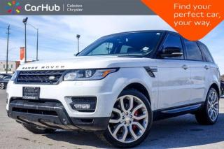 Used 2014 Land Rover Range Rover Sport V8 Supercharged 4x4 Navigation Panoramic Sunroof Bluetooth Heated Front  and Rear Seats 20
