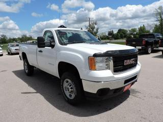 Used 2013 GMC Sierra 2500 WT 6.0L  4X4 Don't pay for 3 months for sale in Gorrie, ON