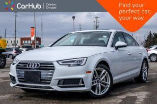 Used 2019 Audi A4 Sedan Technik Quattro Navigation Sunroof Bluetooth 360 Backup Camera Heat Front Seats 18